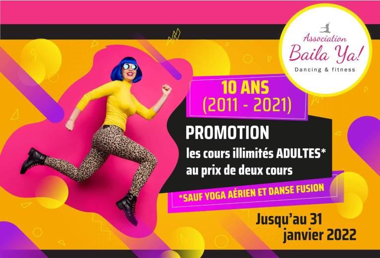 Read more about the article L'atelier de danse «Baila ya»célèbre ses 10 ans !