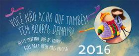 logo campanha do agasalho 2016 - Lourenço Alimentos