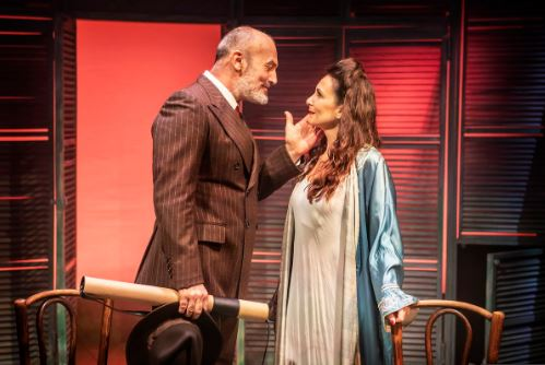 Jerome Pradon and Madalena Alberto. Photo by Pamela Raith.