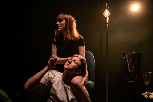 Charlotte Randle and Mike Noble in Cougar. Photo credit The Other Richard.