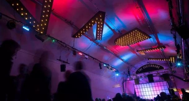 The Vaults Festival. Via The Reviews Hub.