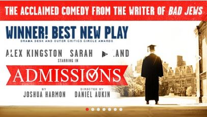 Poster for Admissions.