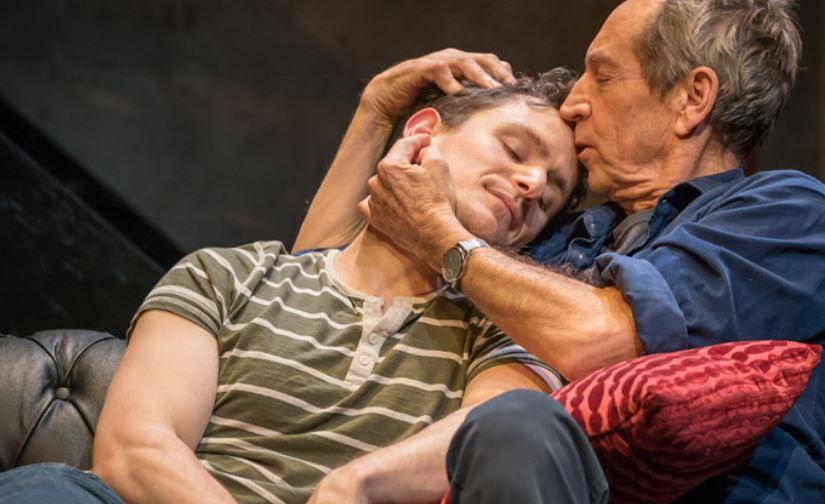 Ben Allen and Jonathan Hyde. Photo credit Marc Brenner.