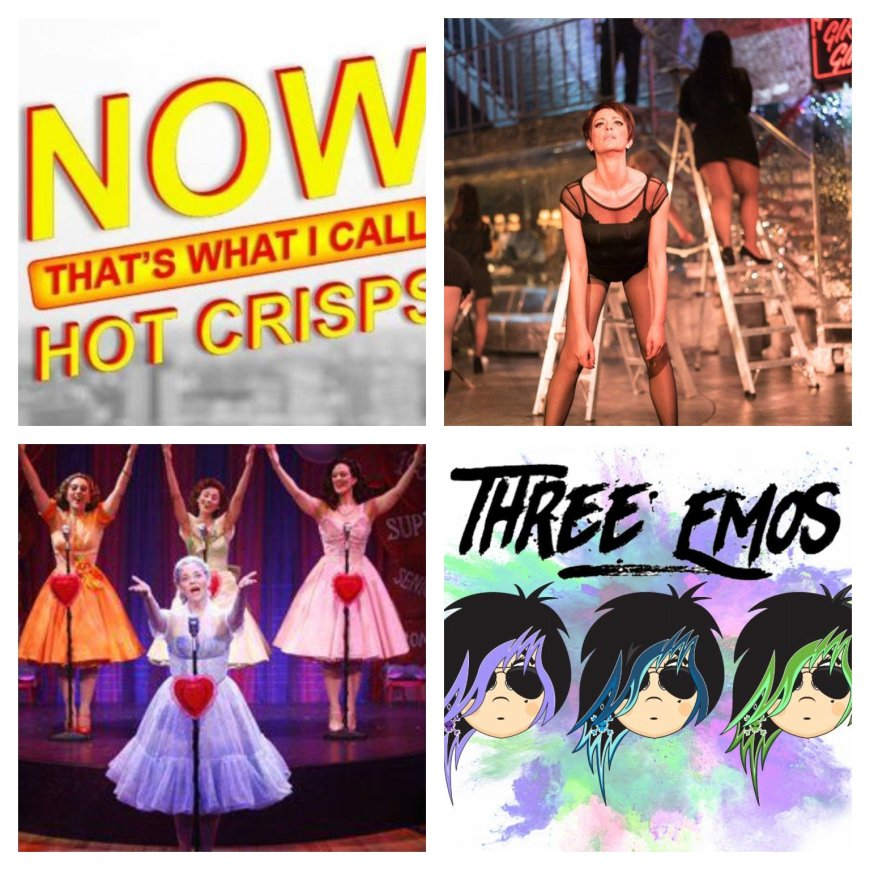 Hot Crisps, Sweet Charity, The Marvelous Wondrettes, Three Emos