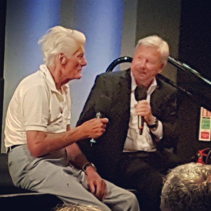 Pete Murray with host David Hamilton