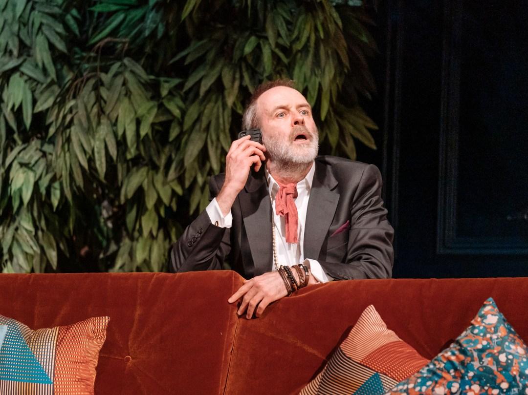 Kevin Doyle in Tartuffe. Photo credit Manuel Harlan.