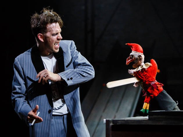 Macheath and Mr Punch