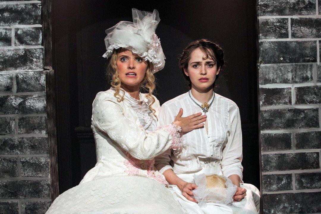 Jazz Sanders and Jemima Watling as Rose and Eliza