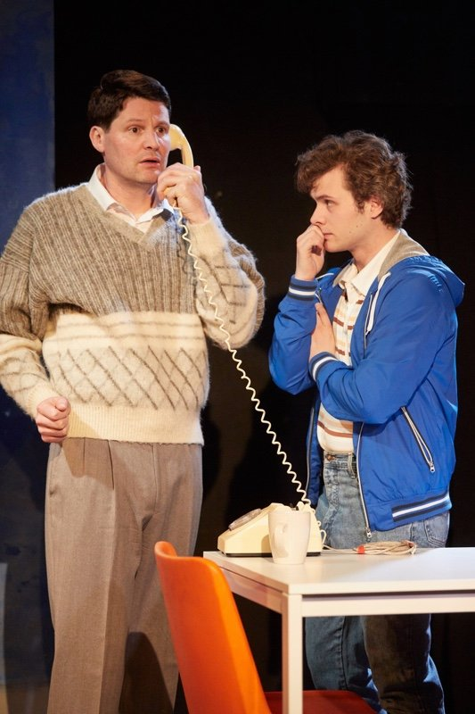 Theo Fraser Steele and Connor Bannister as Martin and Luke