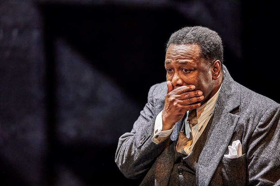 Wendell Pierce in Death of a Salesman