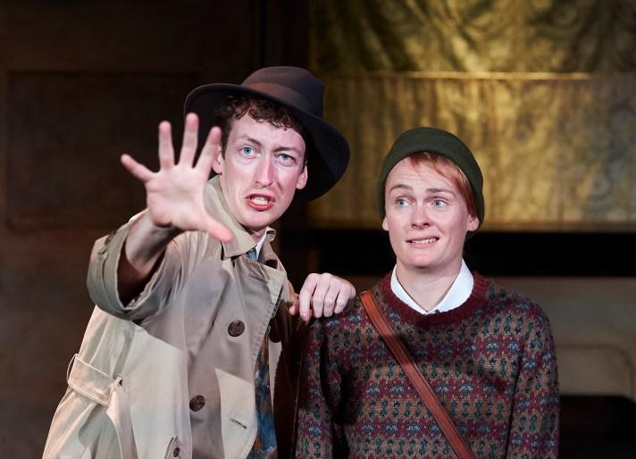 Matt Jopling and Sian Eleanor Green as Tim and Nick Diamond