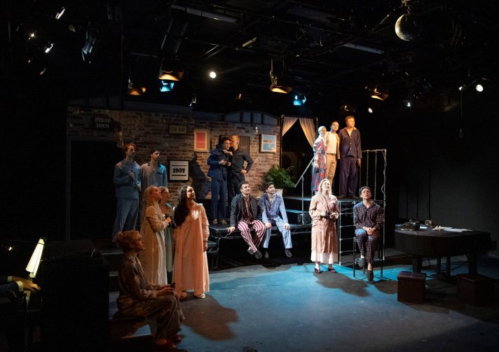 Company of Merrily We Roll Along