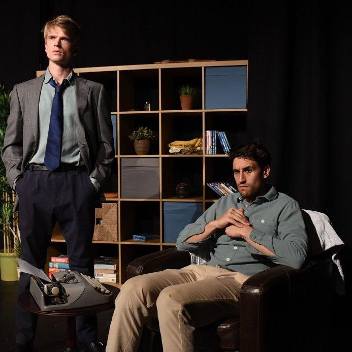 Edward Green and Chris Dillon as Miles and Ben