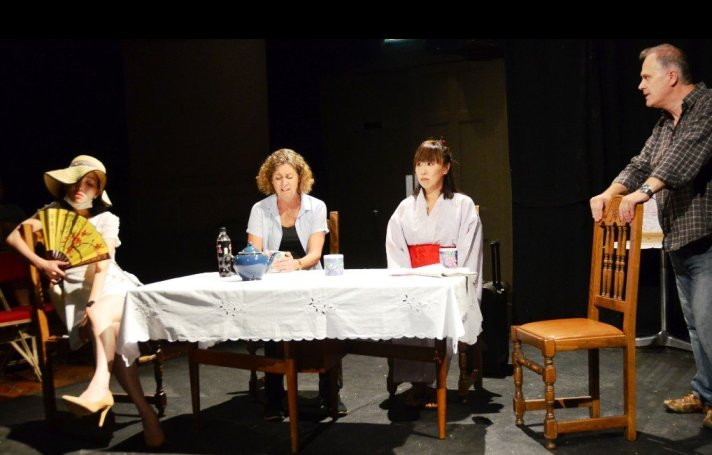 Rina Saito as Shizuko, Kate Winder as Anna, Shina Shihoko Nagai as Ichika, Mark Keegan as Anton