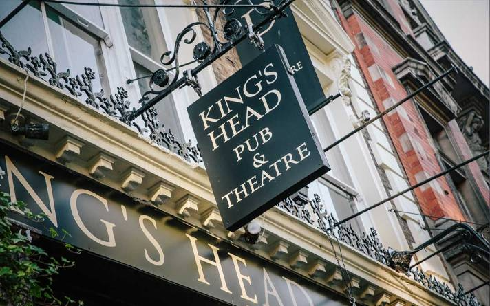 Outside the King's Head Pub and Theatre, Upper Street