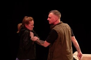 Kathryn O'Reilly and Charlie Allen in Skin in the Game