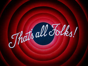 That's all folks Looney Tunes screengrab