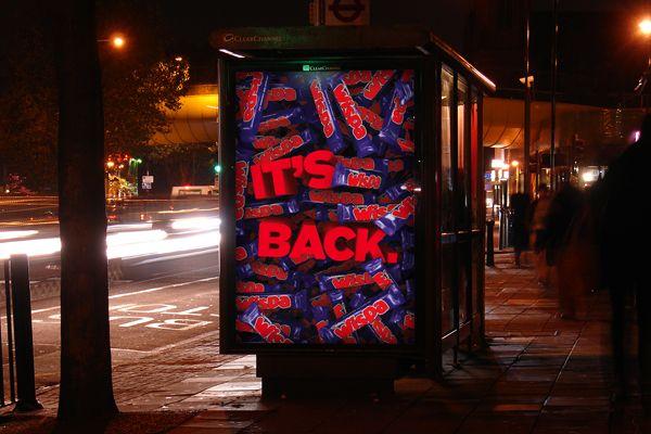 Wispa relaunch advert - via Pinterest.