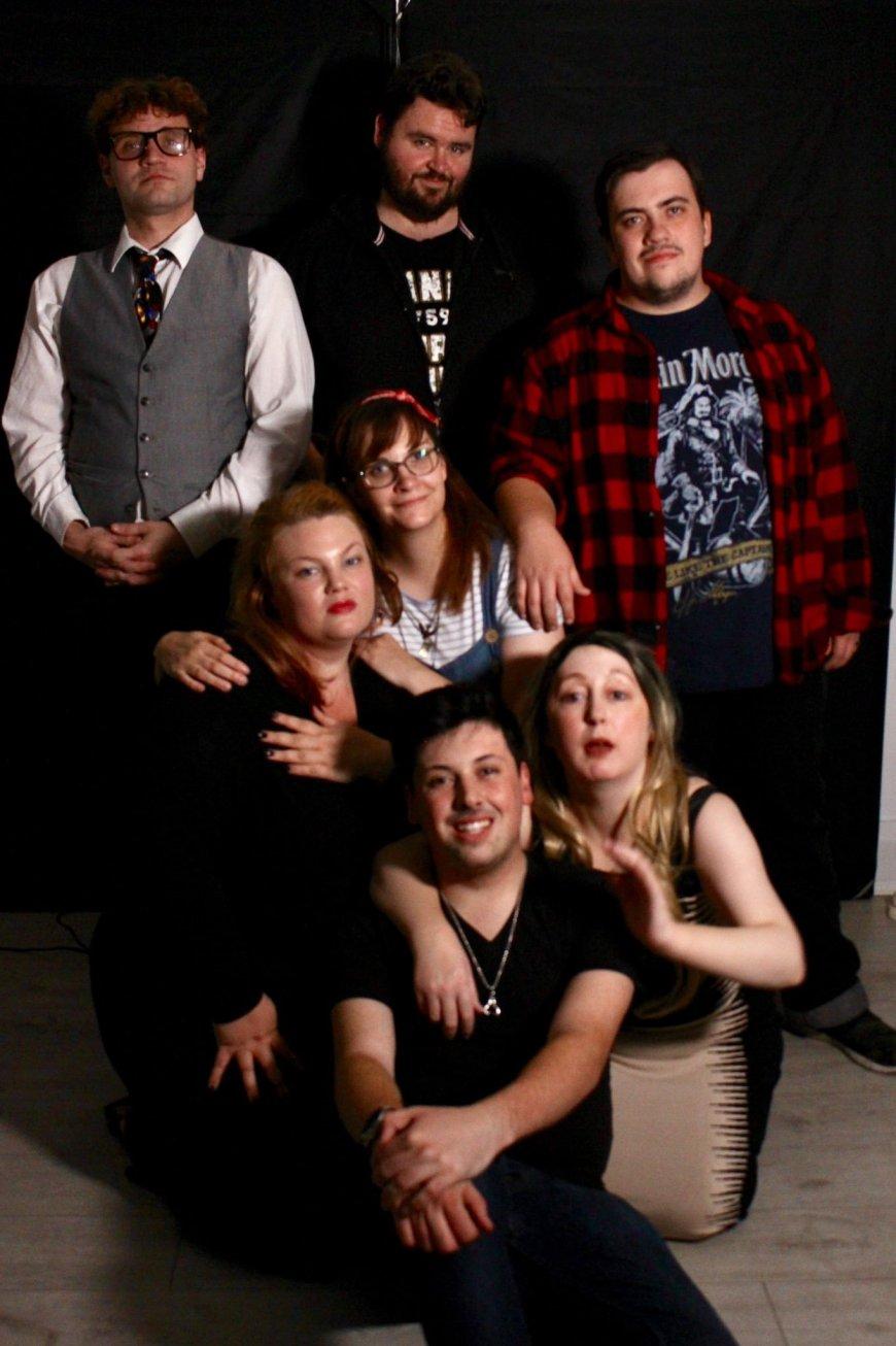 The cast of The Feeling, via Monsteers Artistry