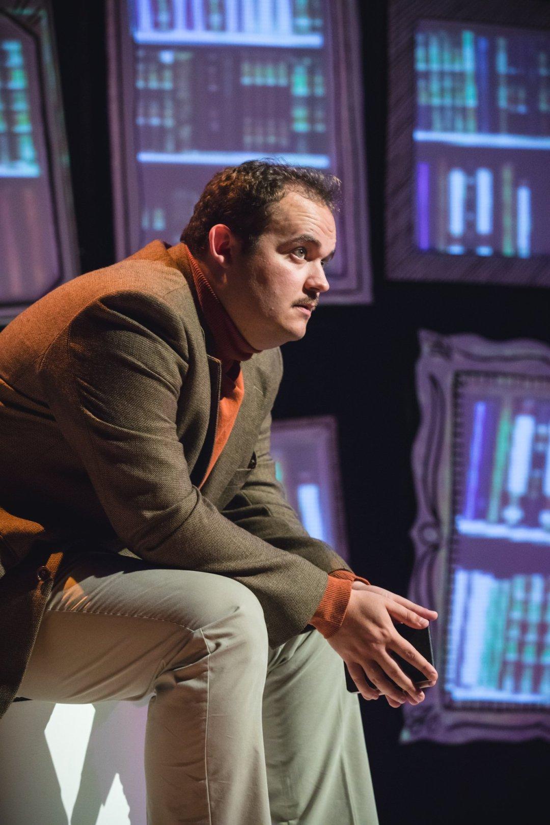 Joel Montague as Mendel in Falsettos