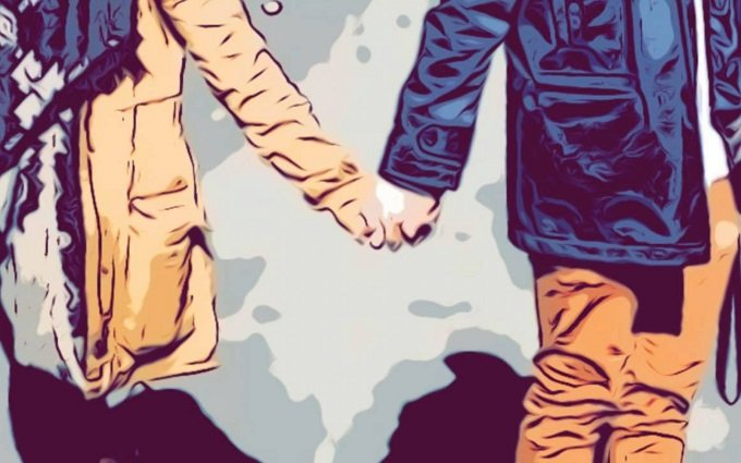 Detail from promotional image for The Feeling