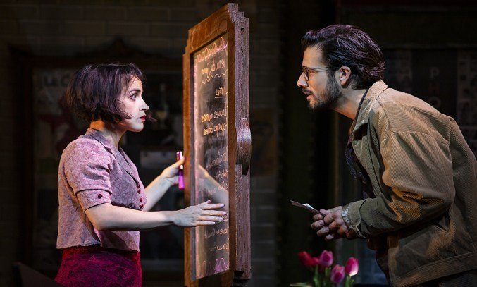 Audrey Brisson and Danny Mac in Amelie.