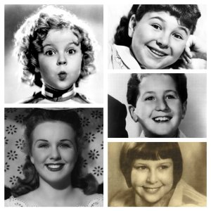 Shirley Temple, Deanna Durbin, Jane Withers, Bobby Breen, Mitzi Green