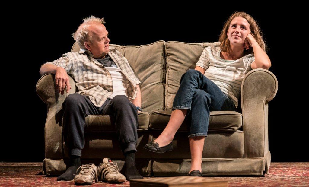 Toby Jones and Louisa Harland in Imp.