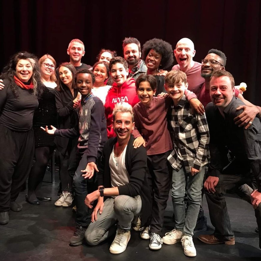 Cast and creatives of Terror at the Sweetshop