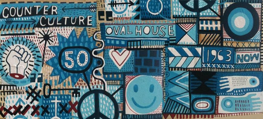 The Ovalhouse@fifty scrapbook