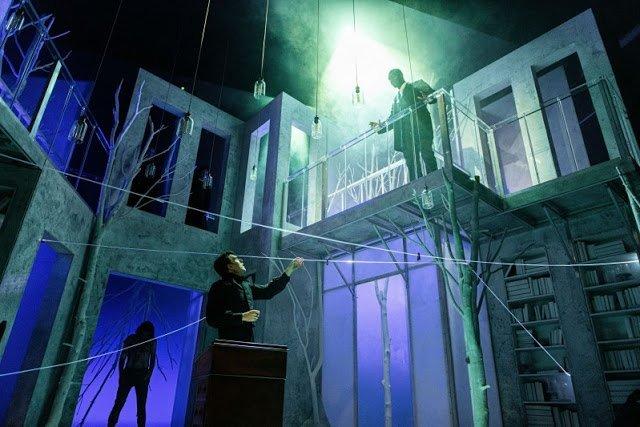 Set design for Frankenstein
