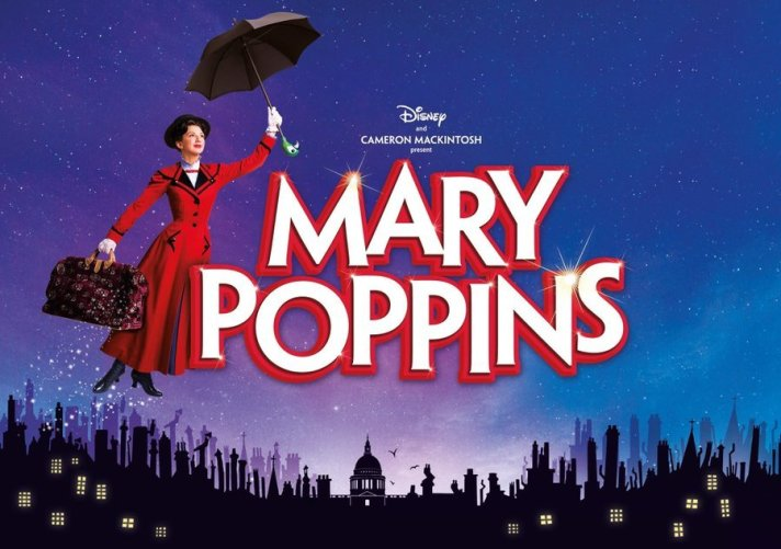 Promotional poster for Mary Poppins