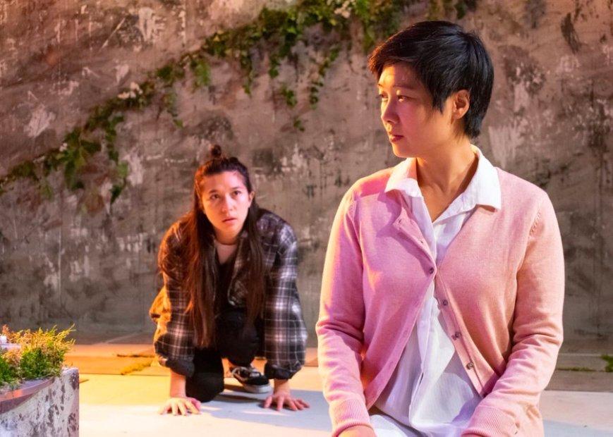 Aoife Hinds as EJ, Tuyen Do as Joy