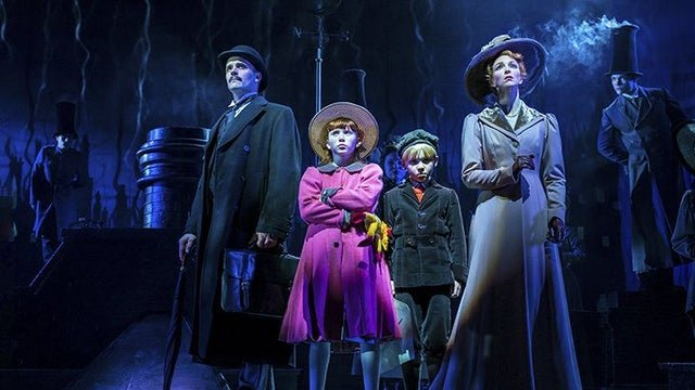 The Banks family in Mary Poppins