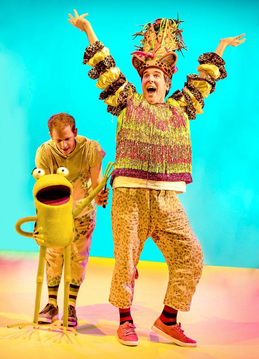 John Winchester as Frog, Simon Yadoo as Cheetah