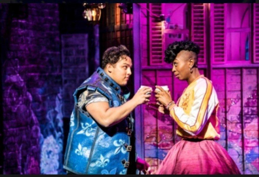 Tim Mahendran and Miriam Teak-Lee in & Juliet