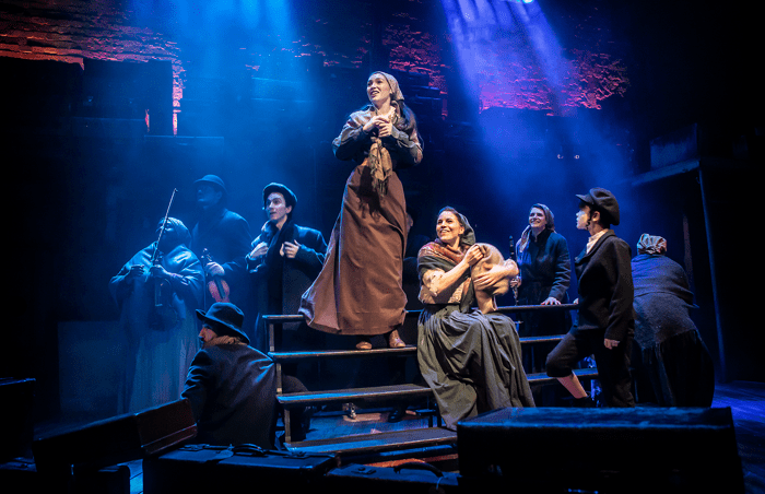 Carolyn Maitland and the company of Rags