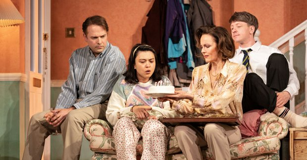 Nicholas Burns, Isabella Laughland, Rachael Stirling, Mike Noble in Love, Love, Love