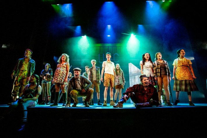 The company of Urinetown