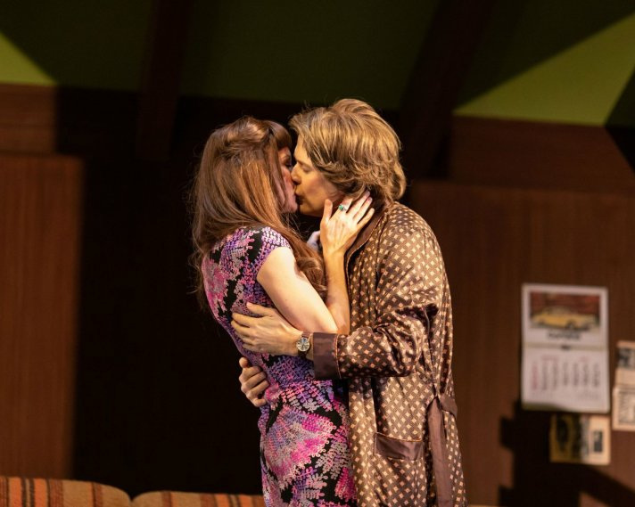 Rachael Stirling and Nicholas Burns in Love, Love, Love