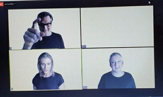 David Morrissey, Denise Gough, Maggie Service in A Separate Peace
