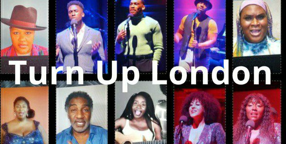 Some cast members of Turn Up London