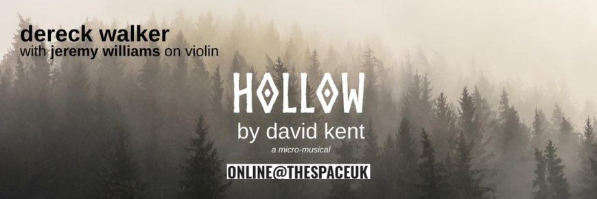 Logo and poster for Hollow by David Kent