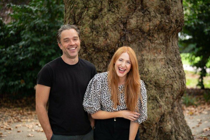Hadley Fraser and Rosalie Craig