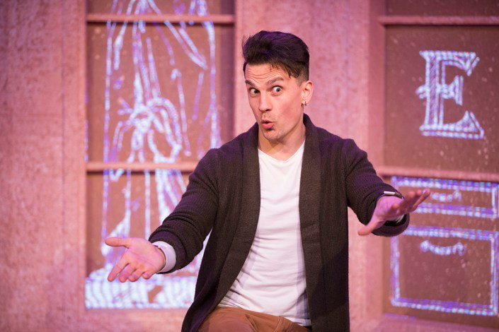 Aaron Sidwell in Buyer and Cellar