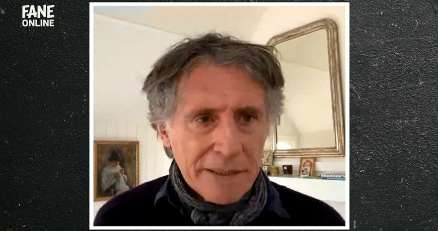 Screencap from An Evening With Gabriel Byrne