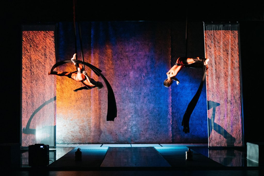 Amelia Cavallo and Sarah Houbolt in Flight Paths