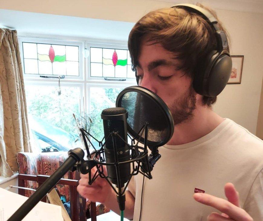 Joe Matty recording 24, 23, 22