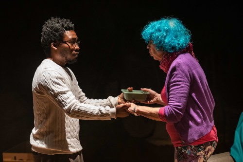 Fisayo Akinade and Sasha Winslow in Ursa Major