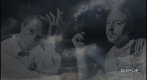Screencap from Lisa Immordino Vreeland's film of Truman & Tennessee: An Intimate Portrait